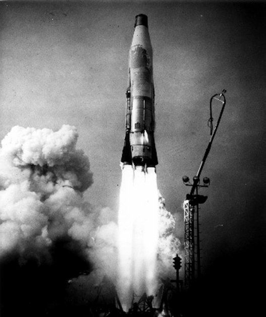 Atlas Nuclear Missile PHOTO ICBM Launch Bomb United States