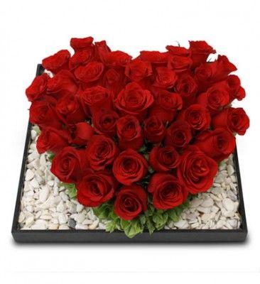 Arreglos Florales En Forma De Corazon Para Aniversario