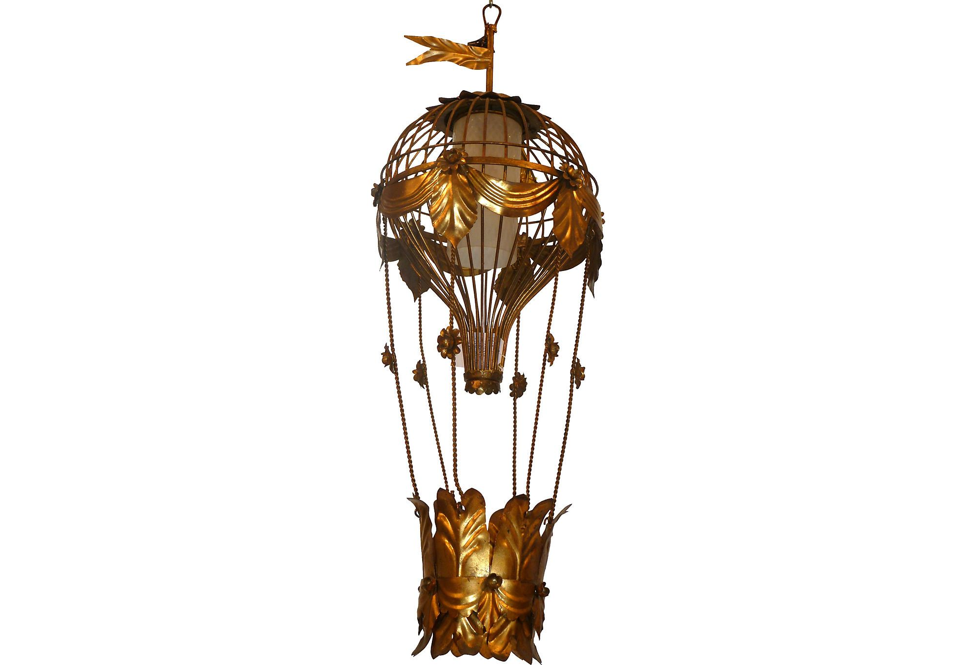 Gilt Hot Air Balloon Chandelier Hot Air Balloons