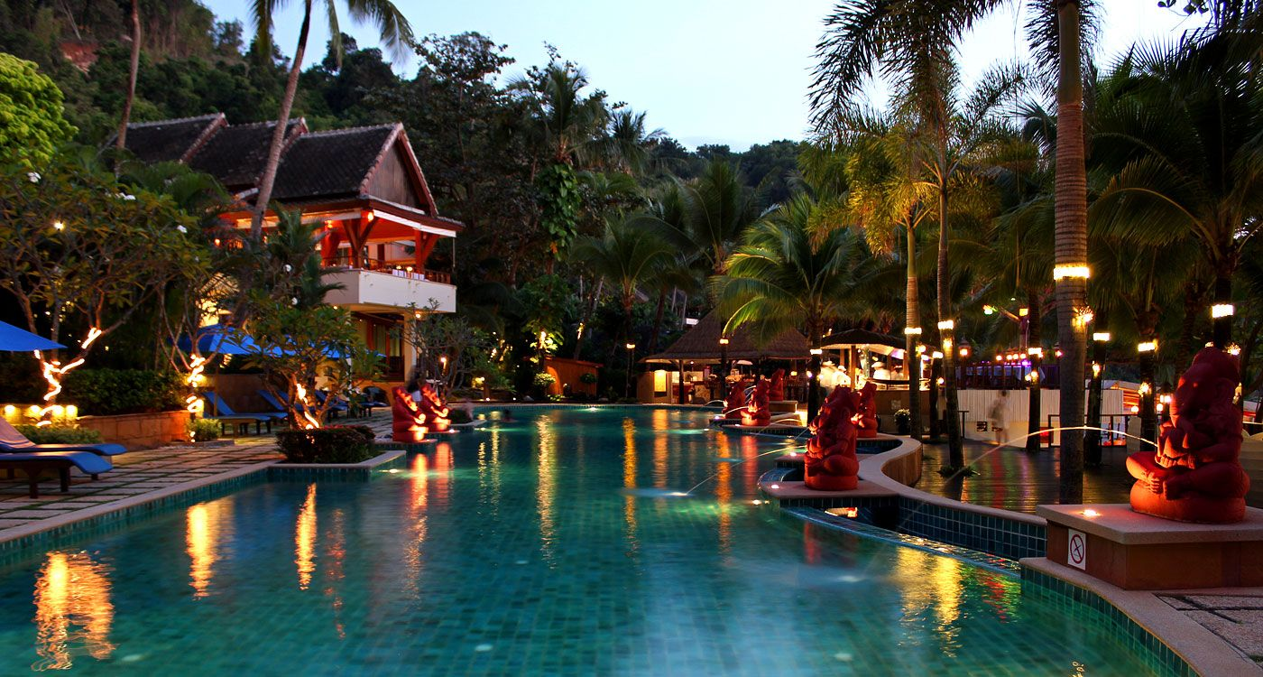 Andaman White Beach Resort in Phuket Thailand