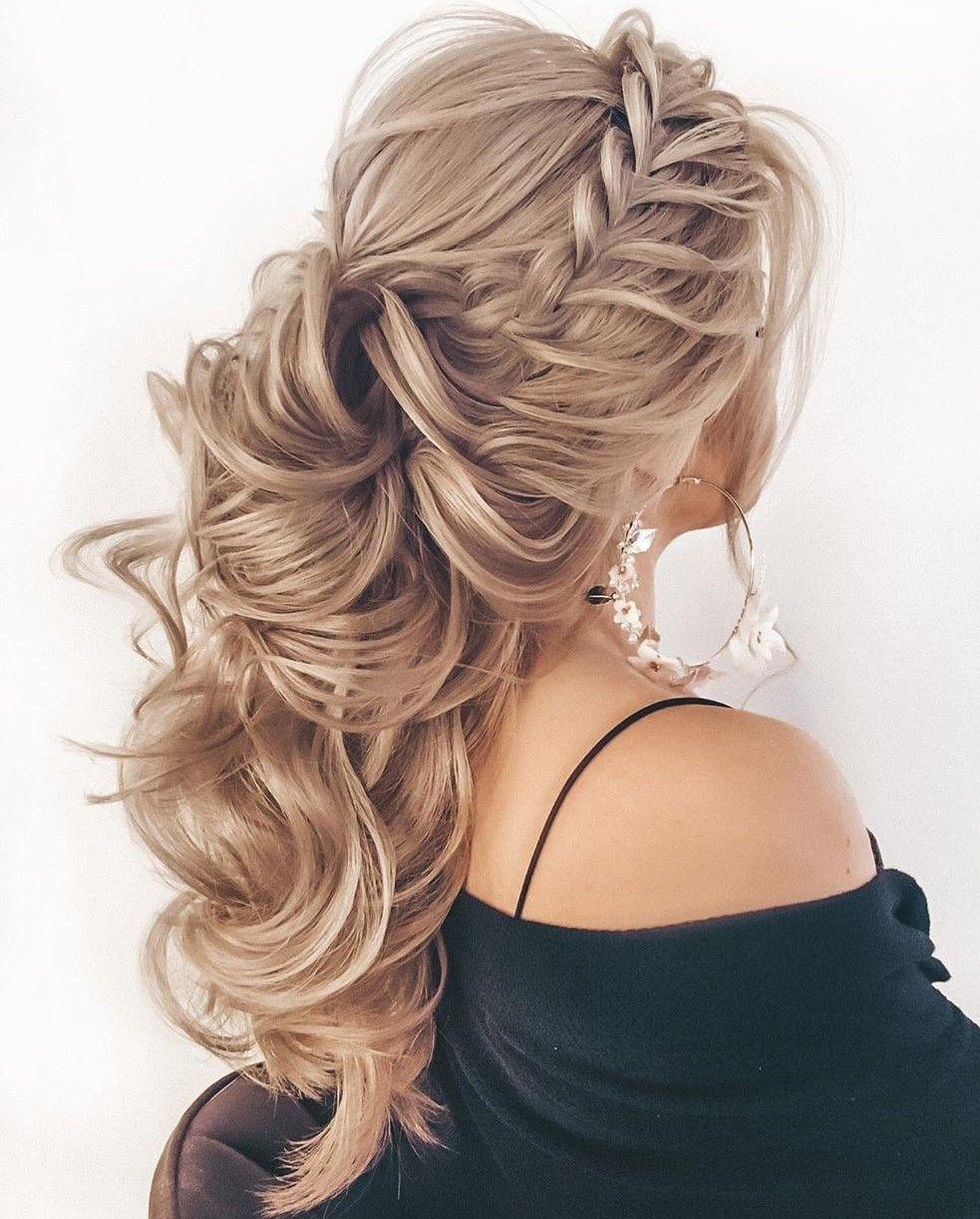 50 Trendiest Half Up Half Down Hairstyles For 2021 Hair Adviser In 2021 Half Up Hair Wedding Hair Half Braided Half Up Half Down Hair