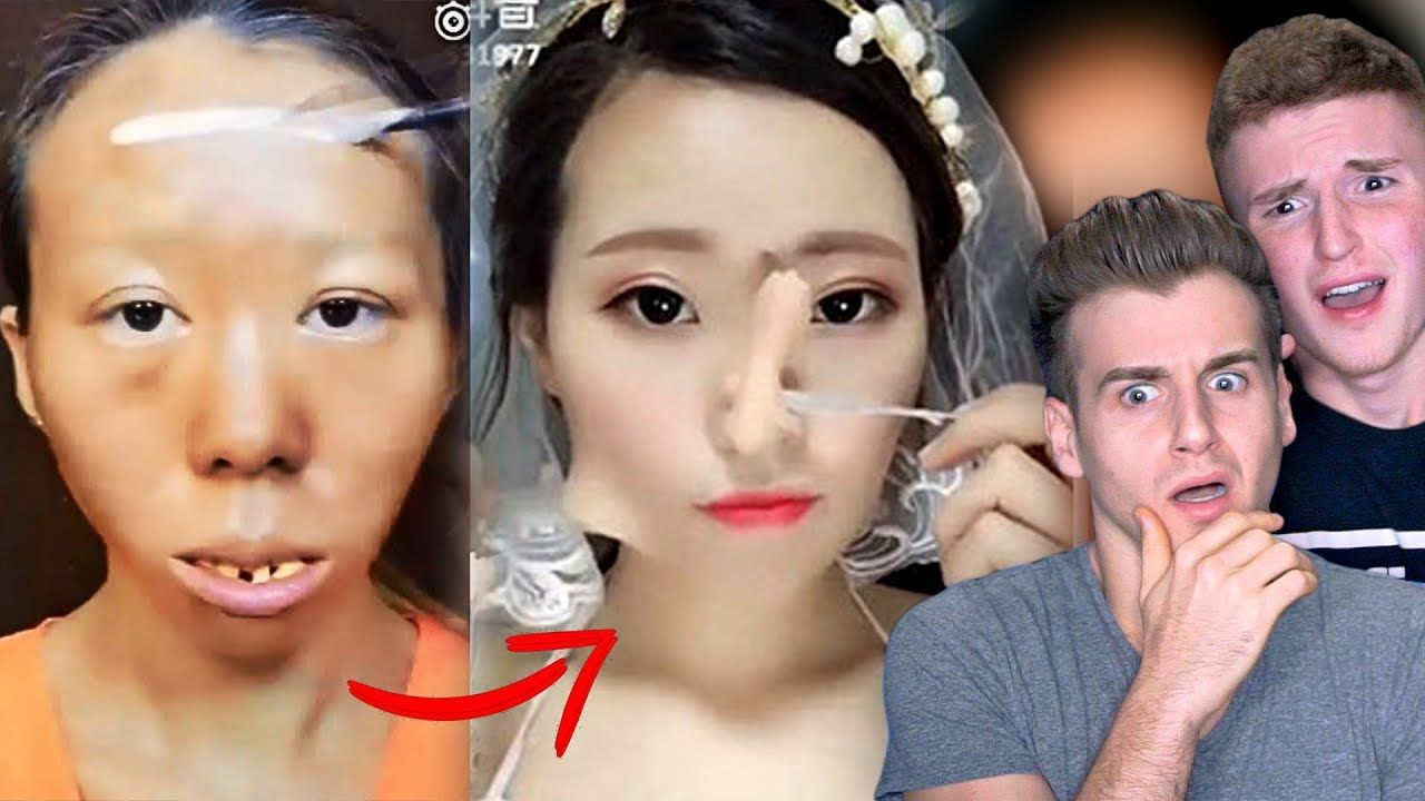 This Is Crazy Viral Asian Make Up Transformation Tutorial Lip In