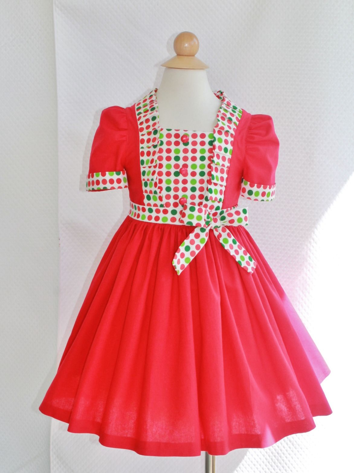 Christmas dress boutiques - Christmas Dress At Outtahand Creations Boutique Https Www Etsy Com