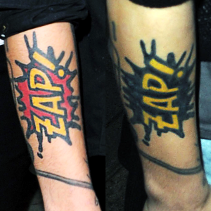 Before \u0026 Now. Zayn Malik\u0027s tattoo\u003c\u003c\u003c @Zayn Malik I love it