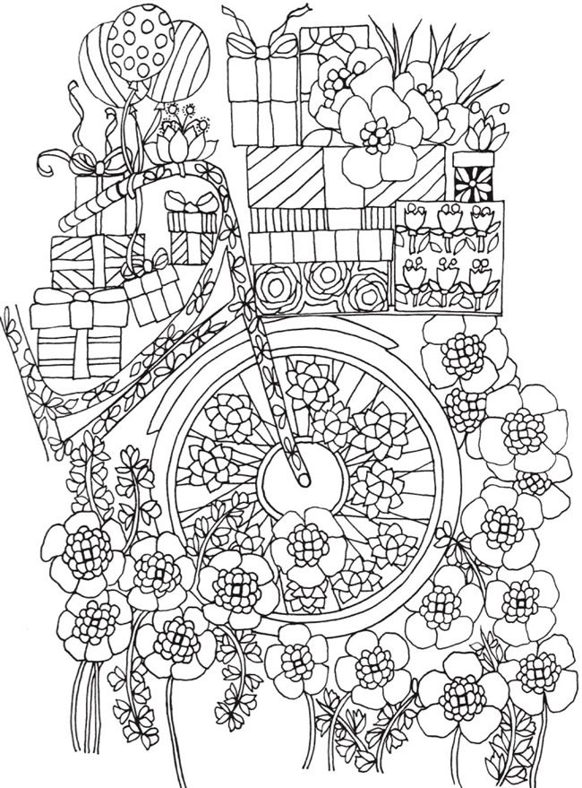 Bliss Celebrate Coloring Book Your Passport To Calm Dover Publications Pattern Coloring Pages Coloring Books Diy Coloring Books