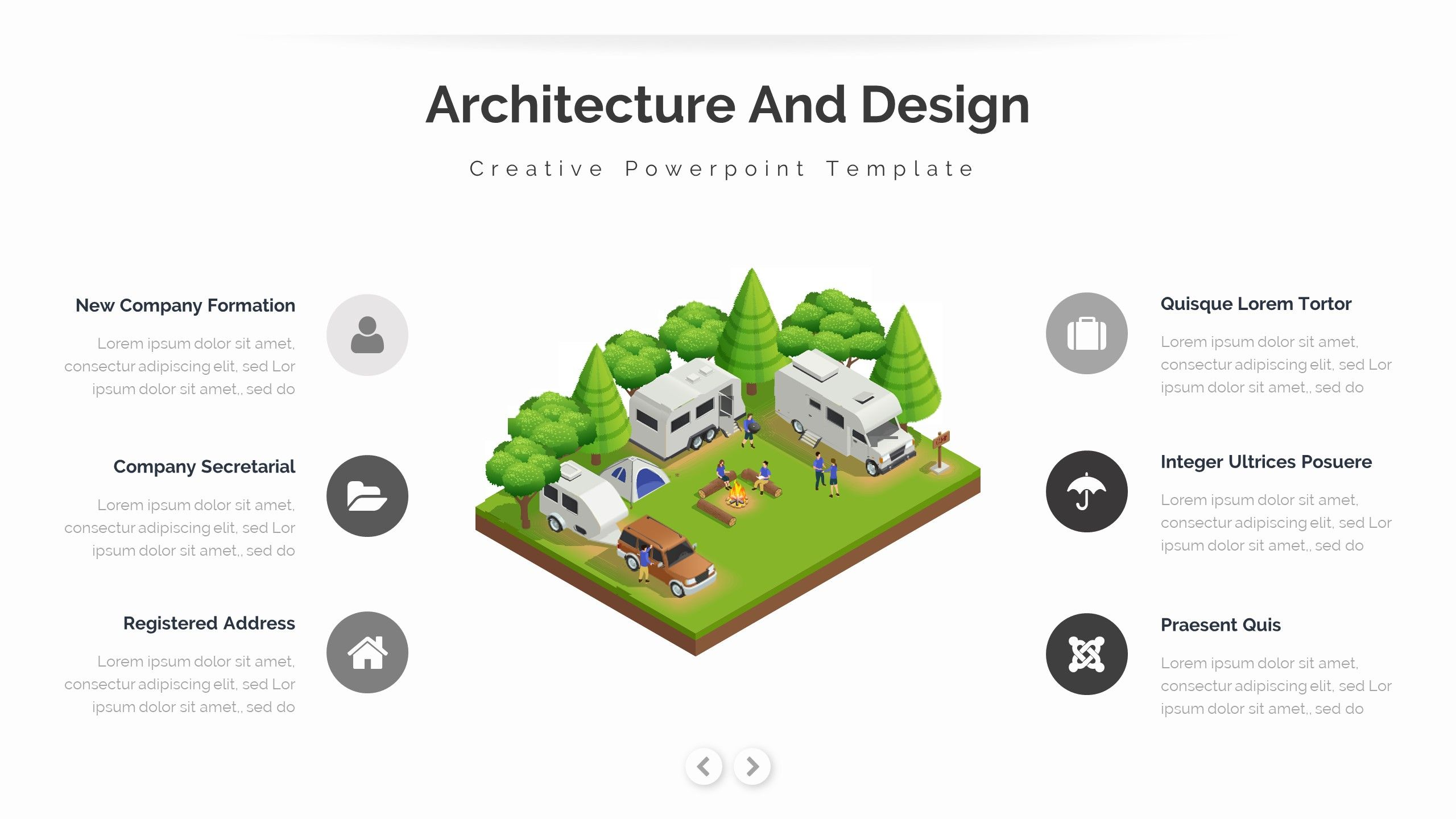 Modern - Architecture and Interior Google Slide Template