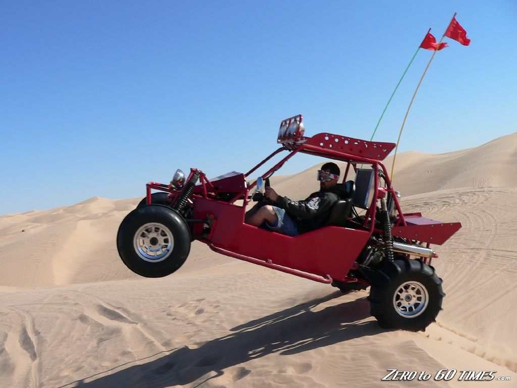 Dune buggy jumping dune buggy silver lake sand dunes