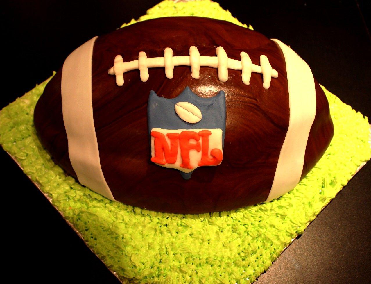 Gâteau En Ballon de Football !