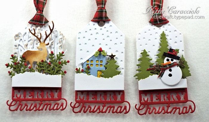 Merry Christmas Tags by kittie747 - Cards and Paper Crafts at