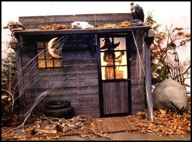 Image Detail for - Haunted Witch Shack....turn into bayou shack