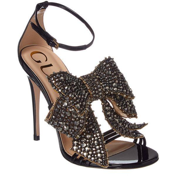 a1c9e33f0 Gucci Crystal Embellished Patent Sandal ( 1