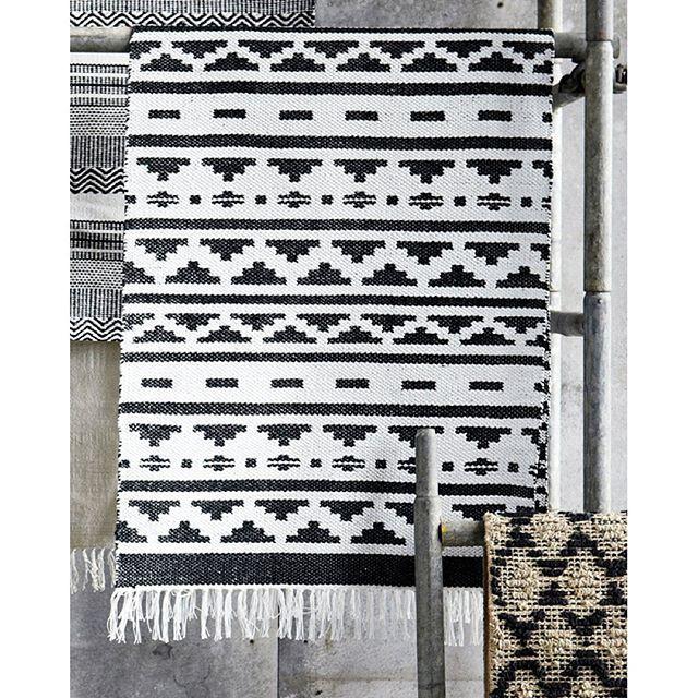 Teppich I Carpet I Inka Hz0138 I Kelim I Schwarz Weiß I Black and - wohnzimmer teppich schwarz weis