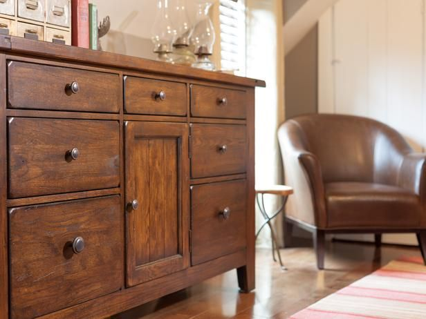 Vintage-Style Dresser With Batten-Board Detail and Cedar-Lined Bottom Drawers
