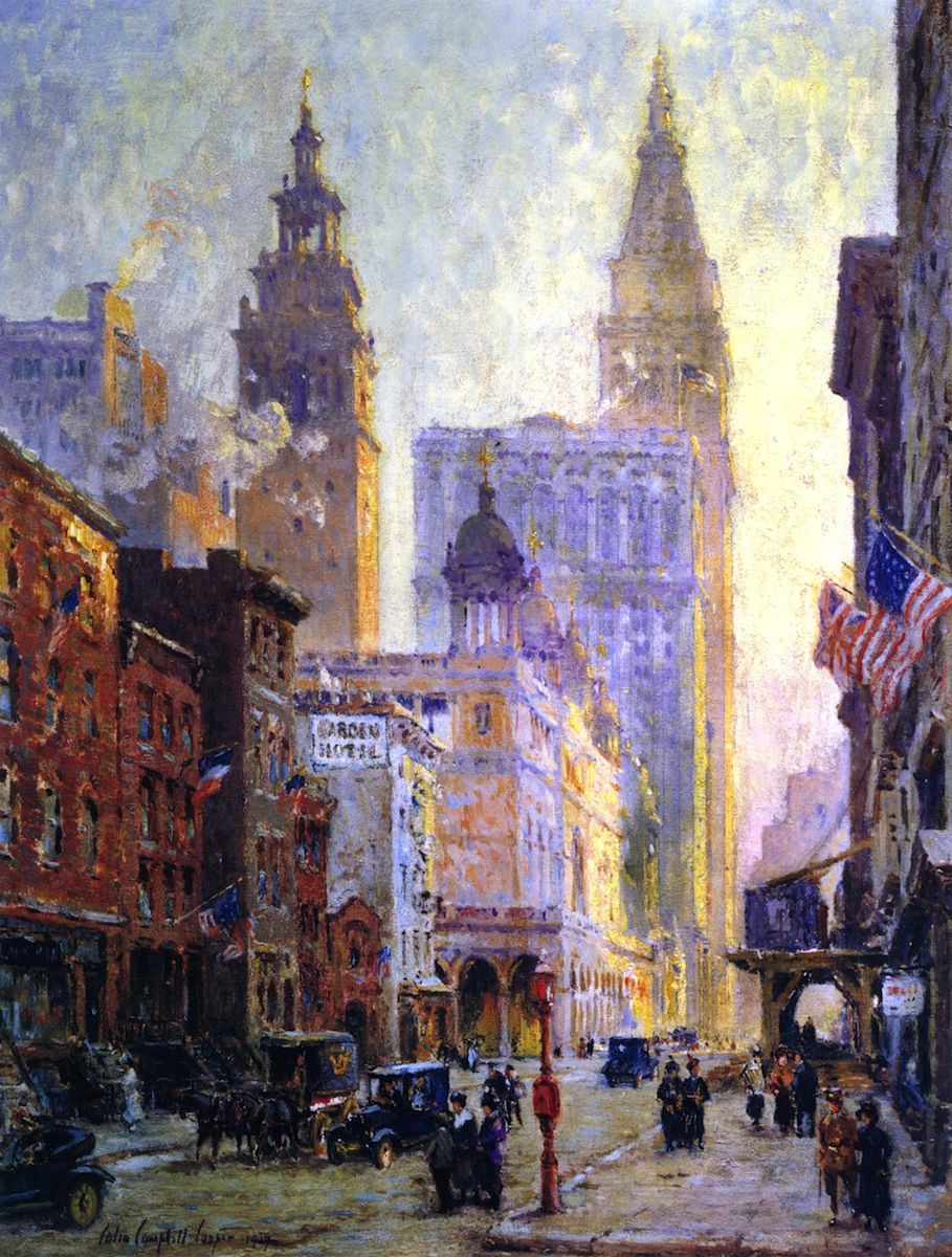Metropolitan Tower York City Colin Campbell Cooper - Fee Apartment