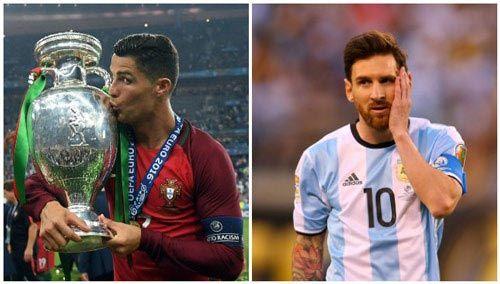 Top 10 cầu thủ hàng đầu thế giới Ronaldo ngang Messi