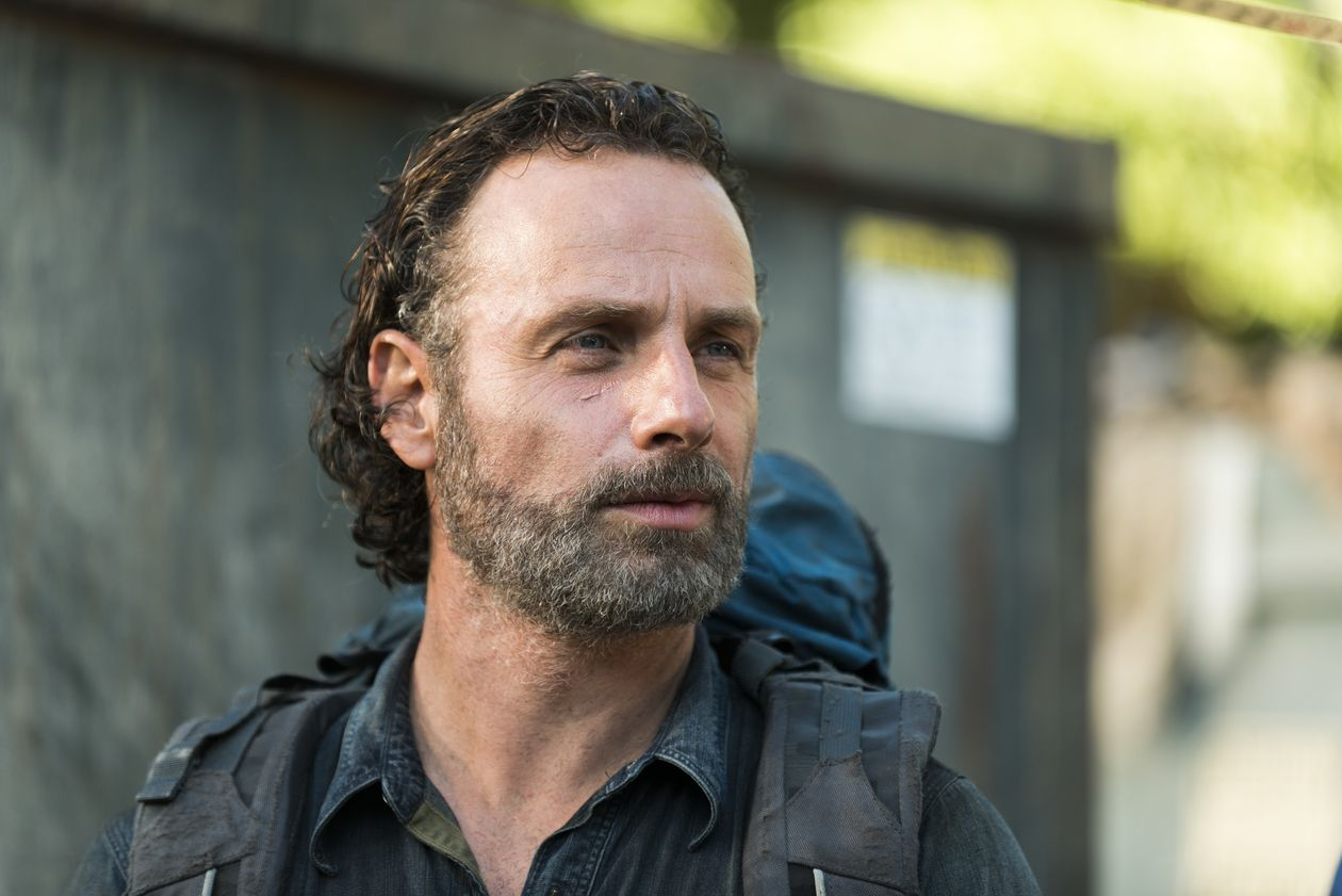 andrew lincoln hairstyle andrew lincoln as rick grimes
