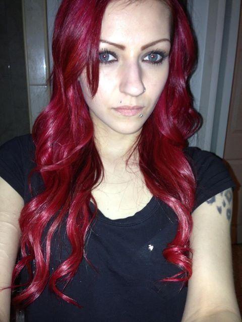 Splat Hair Color Crimson Obsession In
