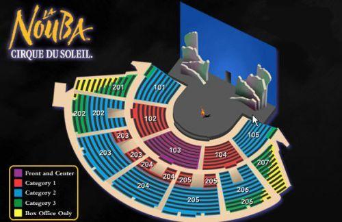 Cirque du soleil orlando cirque du soleil tickets