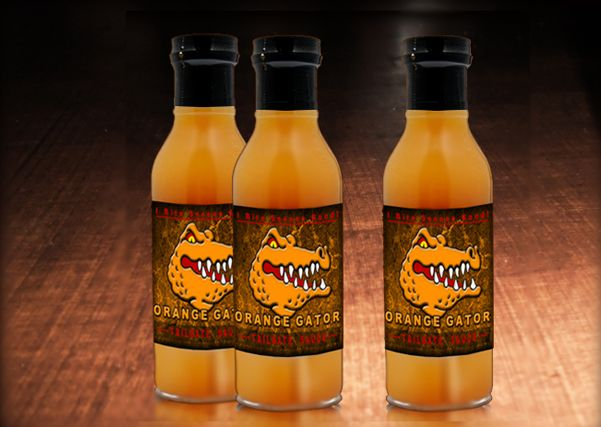 Check out this great sauce!  You can find out what its all about here: http://www.kickstarter.com/projects/460229275/orange-gator-tailgate-sauce