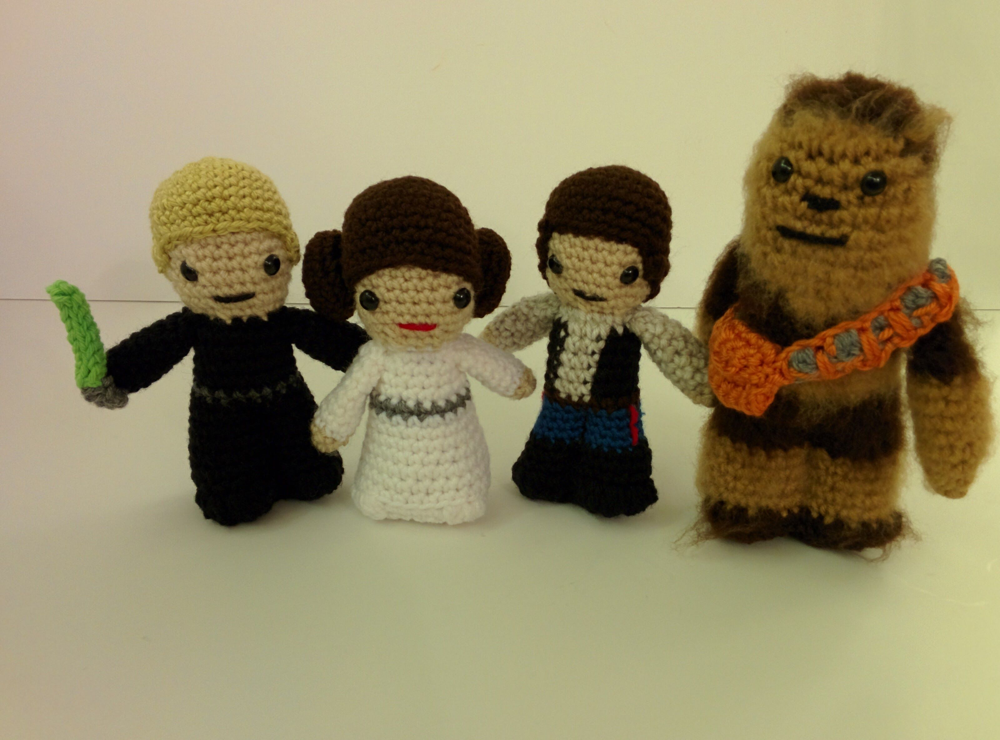 Star Wars crochet part 1 from crochet book kit by Lucy Collins   I ...