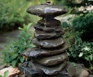 How to Make a Garden Fountain Out Of, Well, Anything You Want #fountaindiy