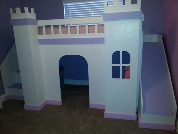 Princess Castle Loft Bed | Do It Yourself Home Projects From Ana White