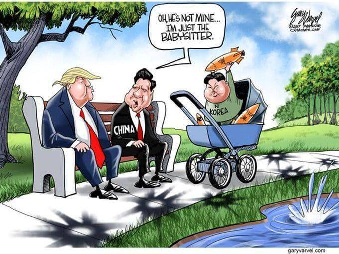 The Problem Of North Korea Heather S Homilies Trump Cartoons