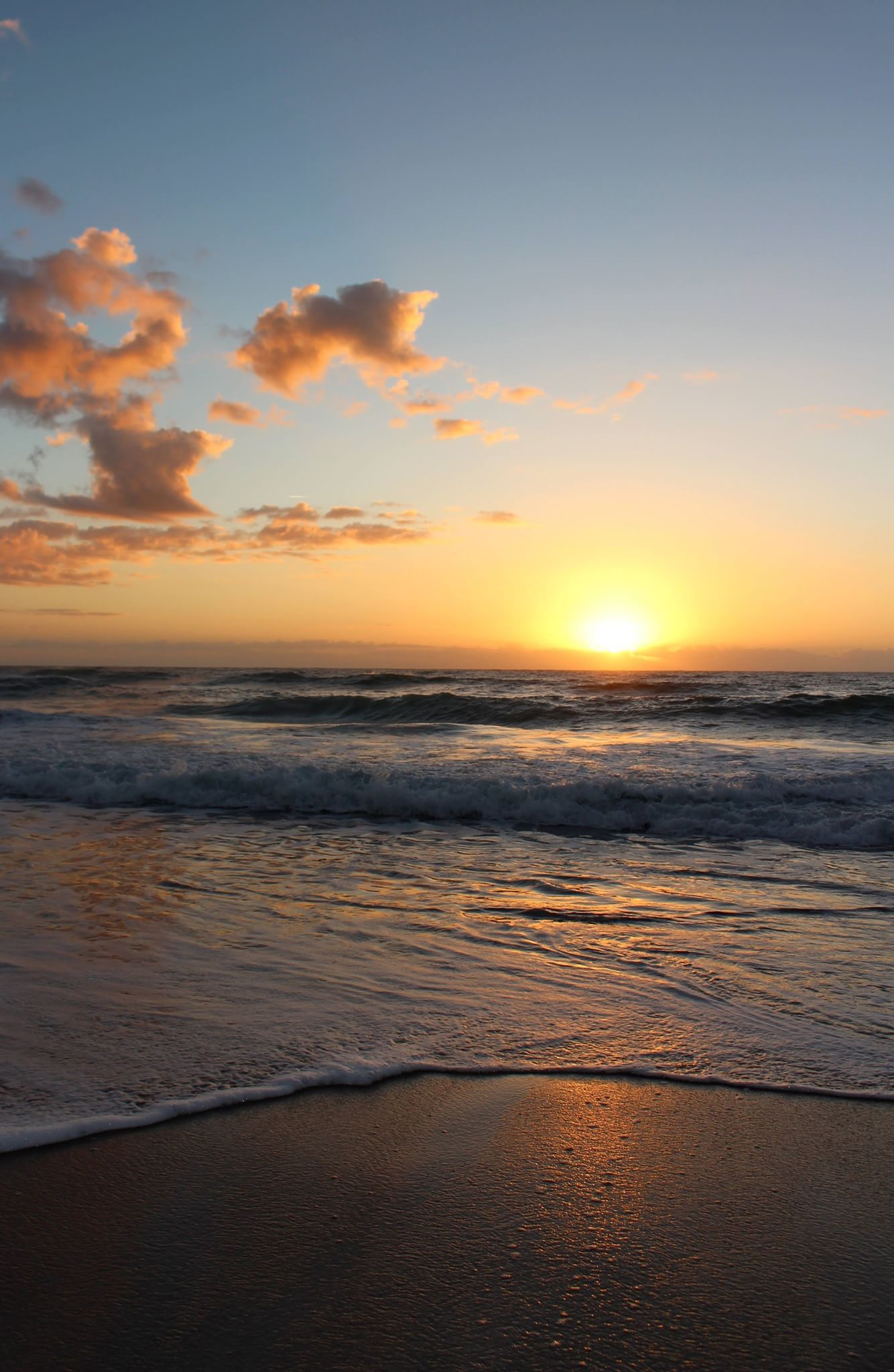 Sunrise On Wrightsville Beach Nc Wrightsville Beach Beach