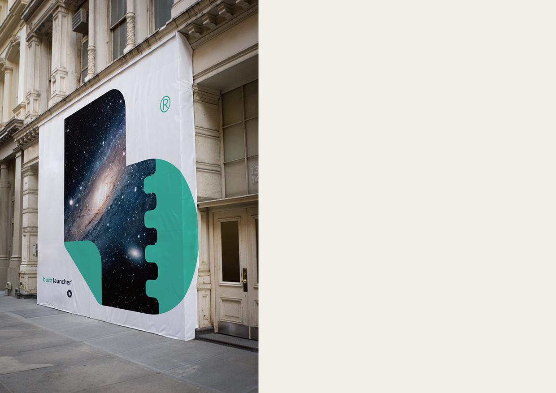 Buzz Launcher Branding on Behance