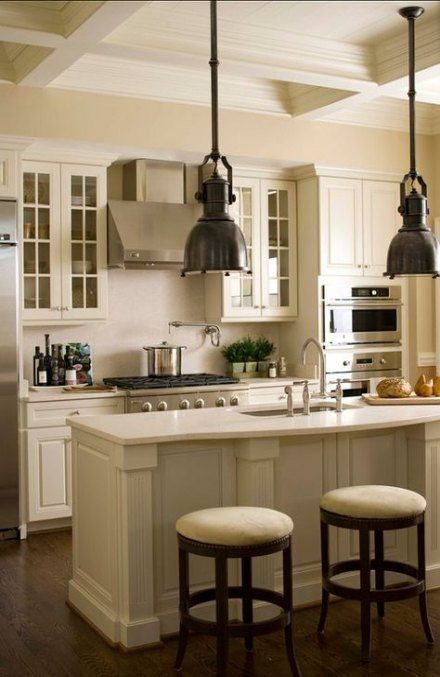 Super Kitchen Cabinets Painted Cream Appliances Ideas # ...