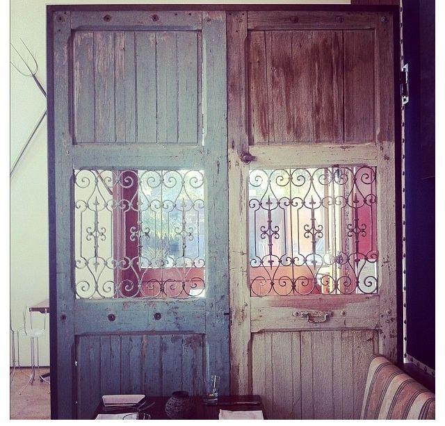 Old Door Room Divider