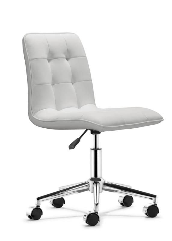White office chair ikea nllsewx White Leather Scout Office Chair Modern Office Chairs Eurway Modern Furniture 259 Pinterest Scout Office Chair Home Office Chairs Desks Desk Chair