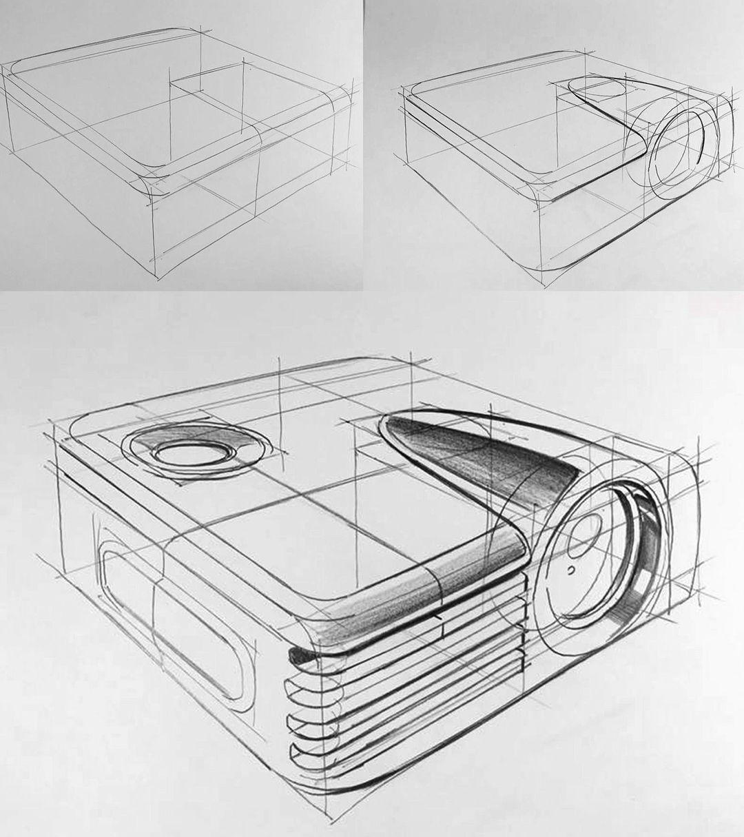 Design Industriel Dessins Industriels Croquis En Noir Et Blanc Design Industriel