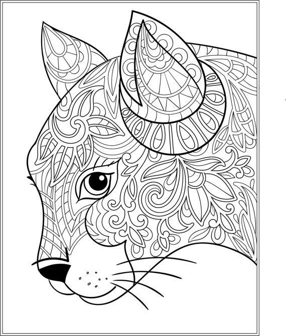 Printable Coloring Pages For Adults 15 Free Designs Free Adult