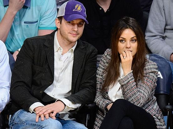 Ashton Kutcher And Mila Kunis Are Married 3 Images Marriage