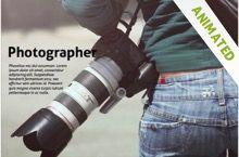 Photographer powerpoint template was created for professional photographer powerpoint template was created for professional photography demonstrations free ppt theme toneelgroepblik Gallery