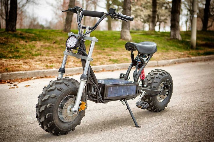 Home Built Electric Scooter