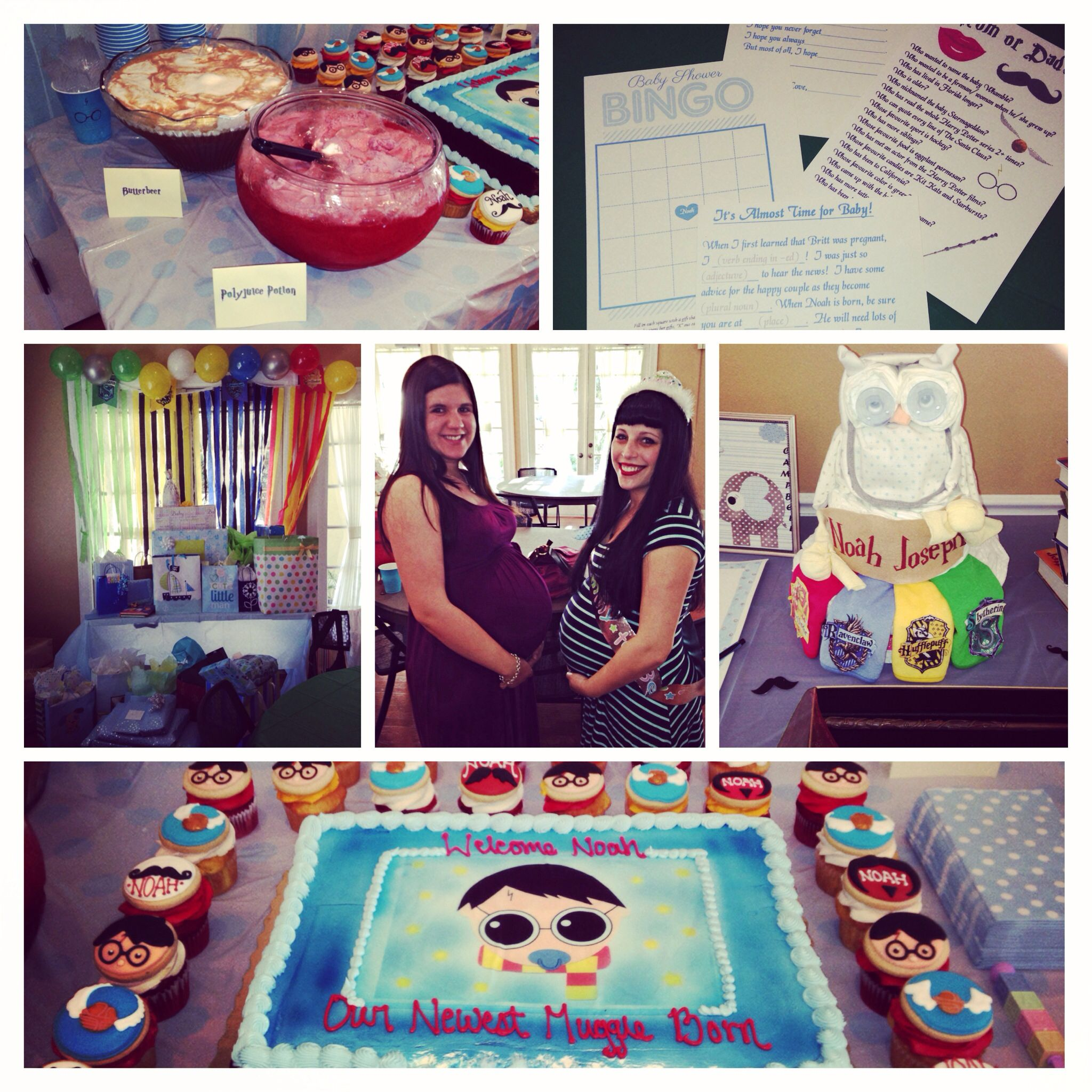 Harry Potter Baby Shower: My Harry Potter Baby Shower