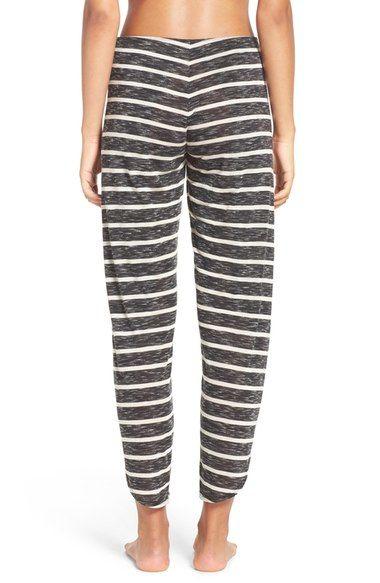 Rare Free People Nothing to Lose Striped Wrap Pant | Wrap
