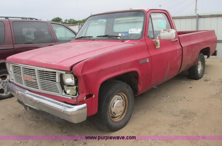 Image For Item I9557 1985 Gmc Sierra 1500 Pickup Truck Gmc Sierra 1500 Pickup Trucks For Sale Gmc Sierra
