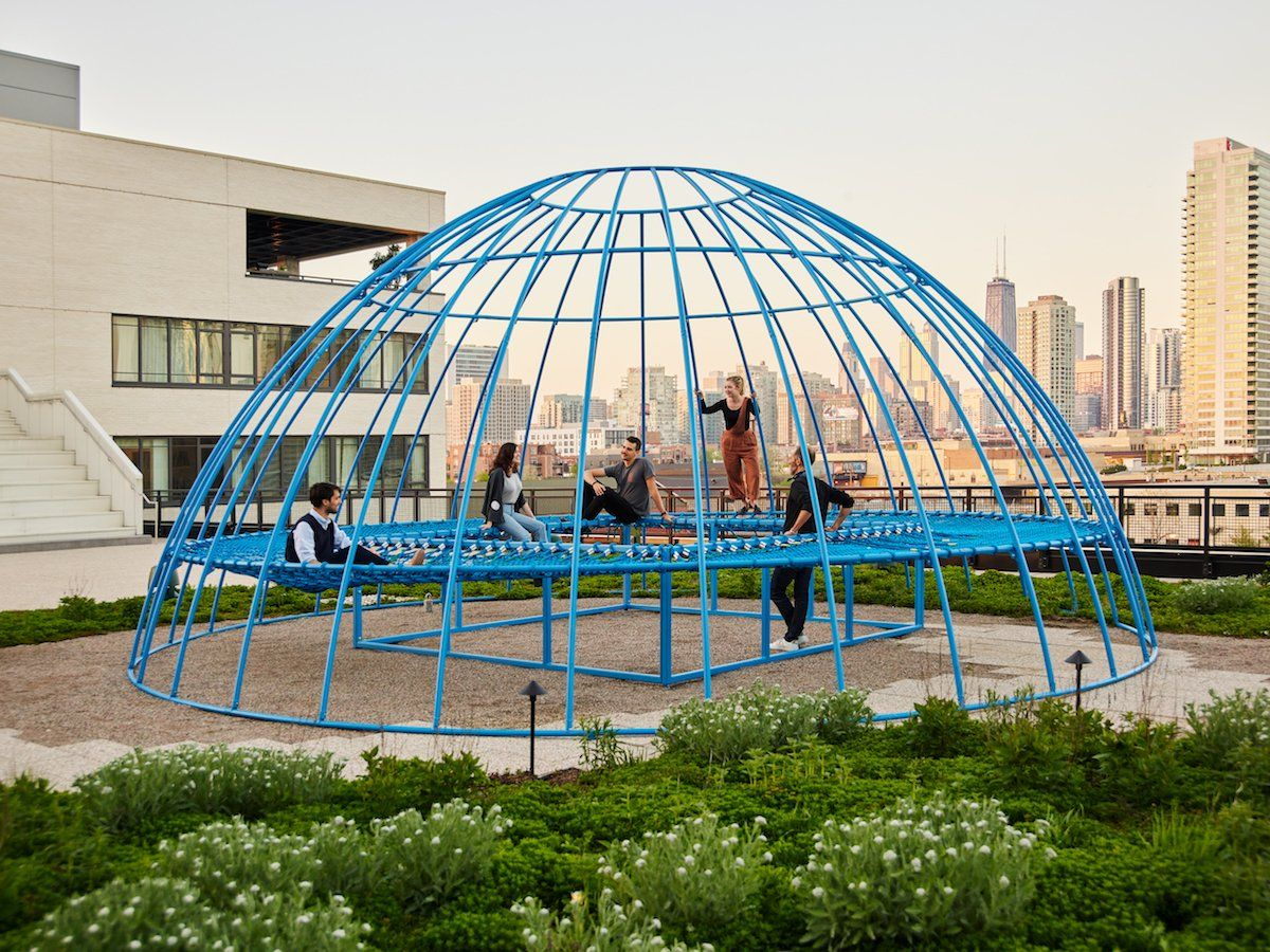 Jonathan nesci brings an adult jungle gym to chicagos ace