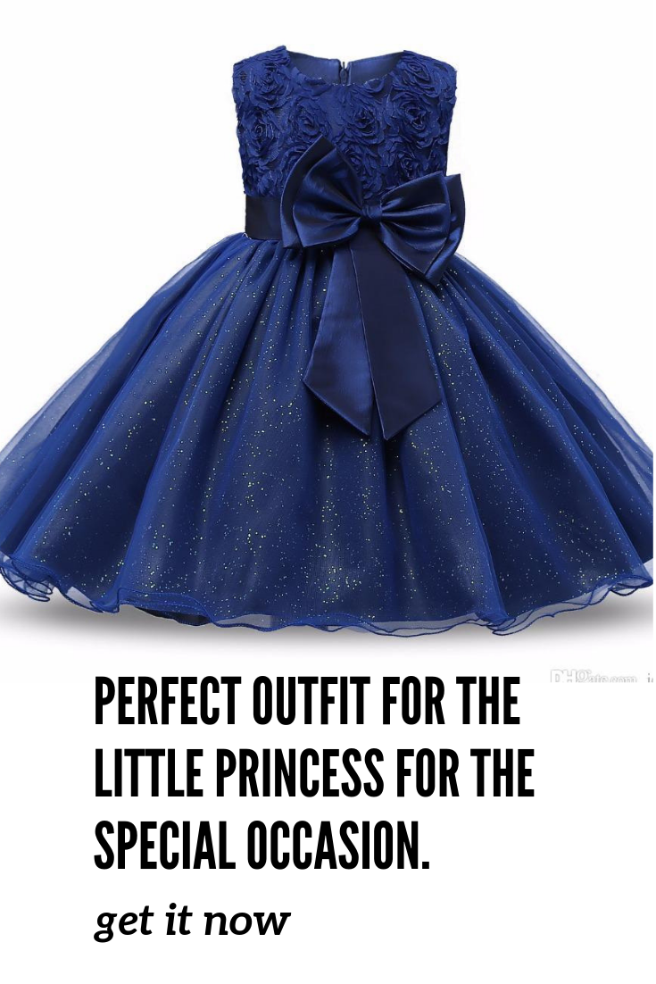 b1b410cf325b A special dress for your little girl. She will feel like a real princess