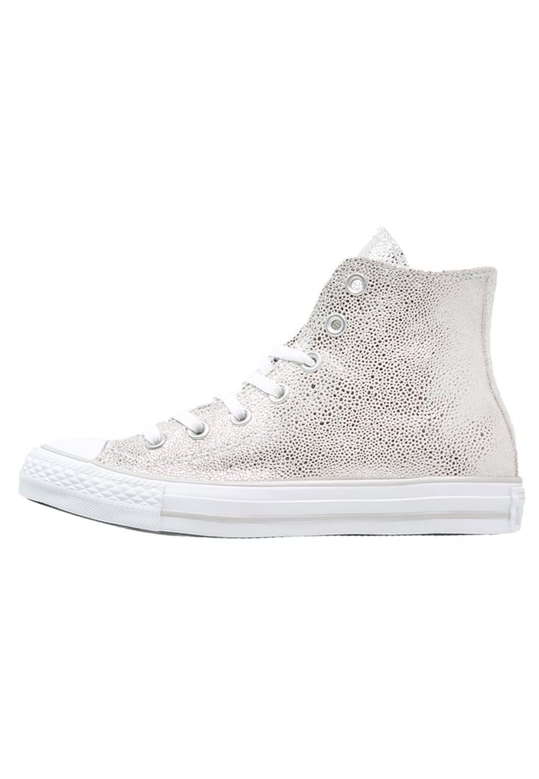 1b5fbc945eaf0 CHUCK TAYLOR ALL STAR - Sneaker high - pure silver black white - Zalando.de