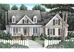 LINCOLN PARK 2211 SQ FT A FRANK BETZ PLAN | Cottage house ...