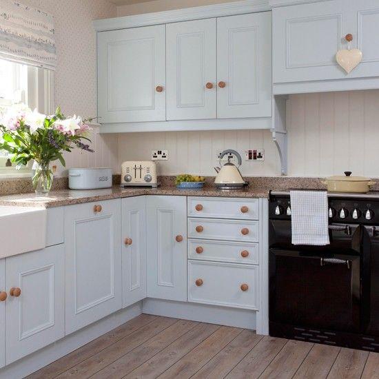 Küchen Küchenideen Küchengeräte Wohnideen Möbel Dekoration Decoration  Living Idea Interiors Home Kitchen   Hellblaue Landküche