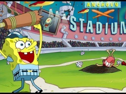 Spongebob Squarepants Plays Baseball Spongebob Games Spongebob Games Spongebob Spongebob Squarepants