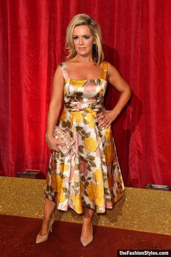 Rachel Leskovac – British Soap Awards 2016 in London, UK