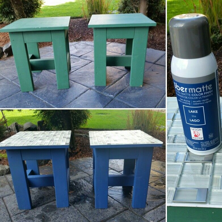 Repurposed End Tables. Upcycle Project Done! I Bought