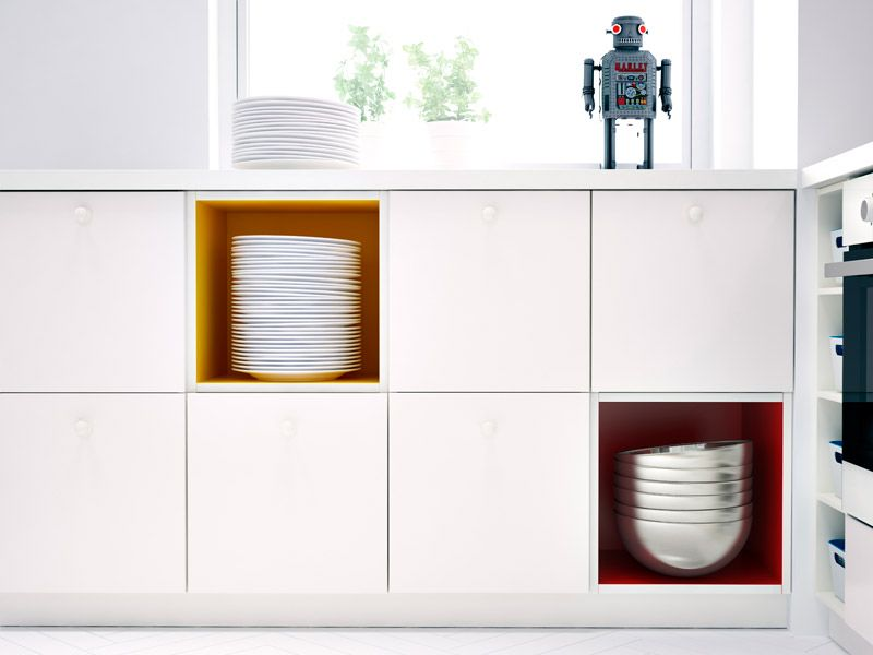 Pin by Alkonoste on Lares and Penates Pinterest Ikea 2014 - ikea kuche schwarz weiss