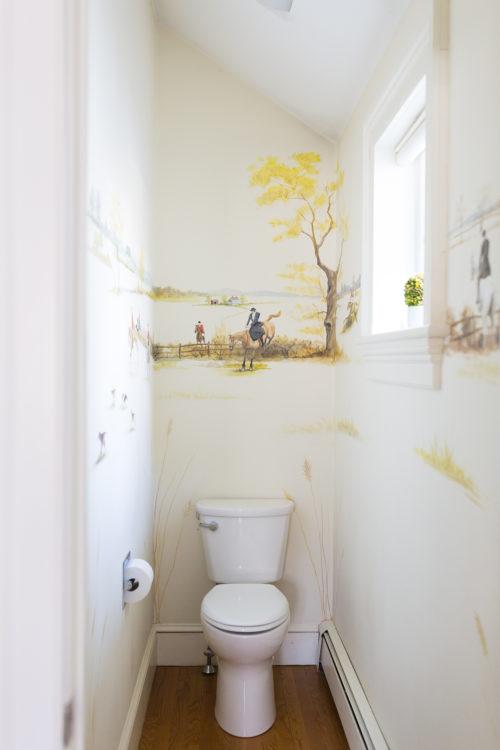 design darling powder room before - Design Darling #powderroomdesign
